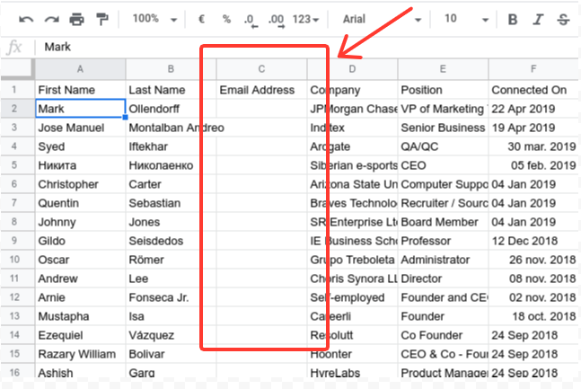 How to Export LinkedIn Contacts with Email