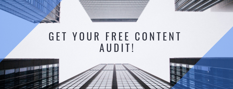 Get Your Free Content Audit!